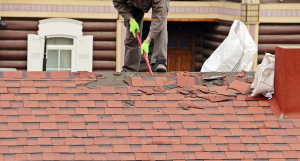 repairing a shingle roof