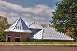 damage-resistant metal roof